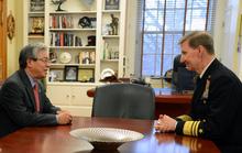 Học viện Hải quân Mỹ sẵn sàng hợp tác với Việt Nam