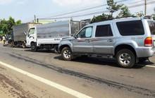 Tai nạn liên hoàn giữa xe máy và 3 ô tô, 1 người chết