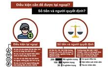 Infographic: Ai được nộp tiền tại ngoại?