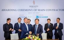 SonKim Land chọn Hòa Bình là nhà thầu chính cho dự án Serenity Sky Villas