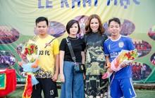 Khi hoa hậu quý bà tổ chức giải bóng đá phủi