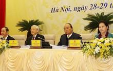 Tổng Bí thư, Chủ tịch nước, Chủ tịch QH dự họp Chính phủ với các địa phương