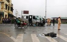 Xe đi đón dâu gặp nạn, 17 người thương vong