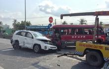 Tai nạn trên đường dẫn cao tốc, 1 người chết, nhiều người bị thương