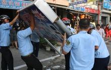 Quận Bình Tân nhắn tin cho dân tự dẹp vỉa hè