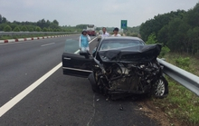 3 ô tô tông nhau trên cao tốc Dầu Giây, 1 người nhập viện