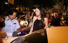 Cẩu xe sang trong đêm ở Sài Gòn