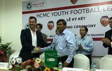 LĐBĐ TP HCM và Fox Football mở sân chơi cho bóng đá trẻ