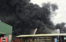 Bà Rịa – Vũng Tàu: Cháy lớn ở bãi phế liệu