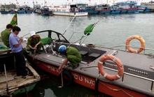 Va quẹt với tàu cá, một Trung úy Biên phòng tử vong