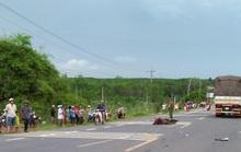 Bị xe tải cán qua người, tử vong tại chỗ