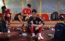 Nỗi buồn của cầu thủ Long An sau trận cuối tại V-League 2017