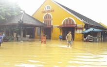 Hội An: Nước lũ rút dần nhưng vẫn trên báo động 3 là 0,66m
