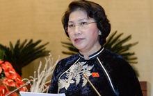 Chủ tịch Quốc hội điều hành phiên họp Hội nghị Trung ương 5