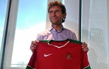 Thầy cũ Mata, De Gea dẫn dắt tuyển Indonesia