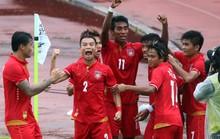U22 Myanmar và chủ nhà cùng thắng