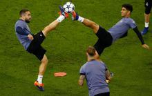 Sao Real, Juve sẵn sàng trước giờ G