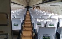 Bất ngờ với nội thất máy bay Boeing bỏ rơi 10 năm ở Nội Bài