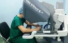 Phẫu thuật ca ung thư dạ dày đầu tiên bằng người máy