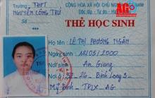 Nữ sinh 17 tuổi mất tích khi đến trường