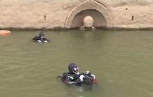 Đầu tượng Phật 600 tuổi nổi trên hồ nước gây sốt