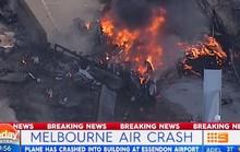 Úc: Máy bay đâm vào trung tâm thương mại, nổ kinh hoàng