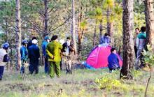 Du khách chết trong lều cắm trại trên núi ở Đà Lạt