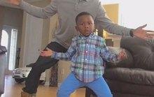 Cặp bố con gây sốt mạng xã hội bằng video nhảy ngộ nghĩnh