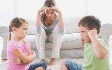 Luôn nói không với thói xấu của con trẻ