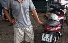 CSGT phát hiện xe máy bị lấy trộm cách đây 7 năm