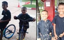 Hai anh em đạp xe 5 tiếng để thăm cha trong tù