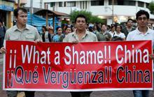 Ecuador bỏ tù 20 ngư tặc Trung Quốc