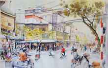 Họa sĩ Pháp triển lãm tranh về Việt Nam tại bảo tàng quê nhà