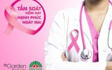 TTTM The Garden tặng gói tầm soát ung thư vú cho phụ nữ