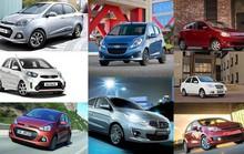 Xế hộp về giá dưới 300 triệu: Các hãng xe nhỏ bung hàng mùa Tết