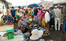 Nhộn nhịp chợ cá Dư Khánh những ngày đầu năm
