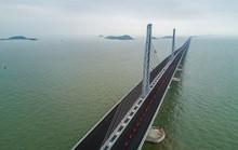 Ngắm cầu vượt biển 55km, dài nhất thế giới