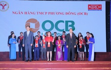 OCB liên tục được vinh danh
