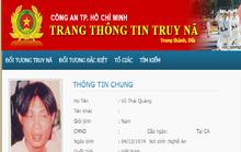 Di lý phóng viên bị truy nã từ Nghệ An về TP HCM