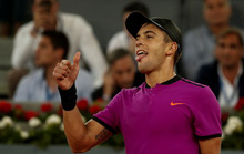 Sao trẻ Coric quật ngã số 1 thế giới ở Madrid Open