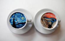 Những tách cà phê đẹp đến mức không ai nỡ uống