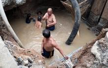 Khắc phục sự cố rò rỉ, 4 quận TP HCM bị cúp nước