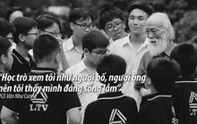 Thầy VĂN NHƯ CƯƠNG sống mãi trong tim học trò!
