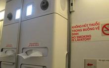 Điều dưỡng Trung Quốc hút thuốc lá trên máy bay đến Việt Nam