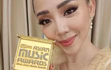 Tóc Tiên nhận giải ca sĩ xuất sắc nhất Việt Nam của MAMA 2017