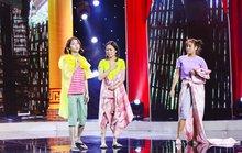 Việt Hương cười không ngừng với Next Top Model làng hài
