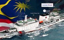 Tàu Trung Quốc bám riết lãnh hải Malaysia