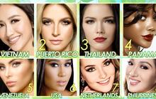Hà Thu đứng đầu tốp 10 sáng giá ngôi vị Hoa hậu Trái đất
