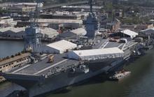 Hải quân Mỹ nhận siêu tàu sân bay 12,9 tỉ USD