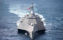 Tàu chiến tàng hình của Hải quân Mỹ bảo dưỡng ở Cam Ranh